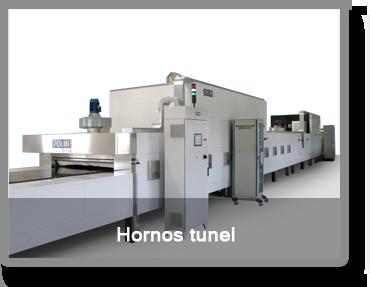 Hornos de tunel