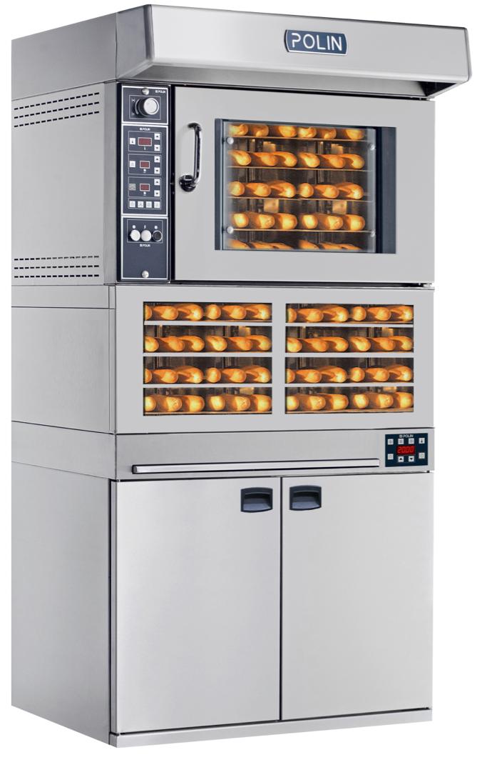 Horno de conveccion Mod. WIND 6040 5+portapadelle